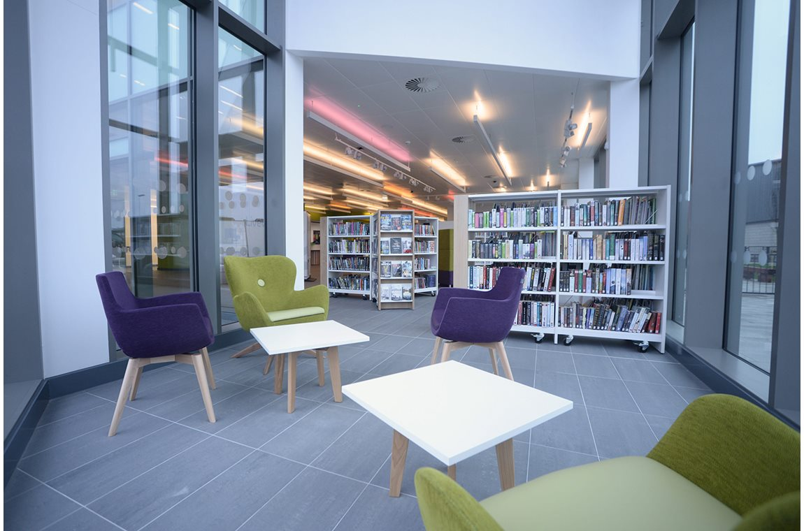 Great Sankey Neighbourhood Hub, Royame-Uni - Bibliothèque municipale